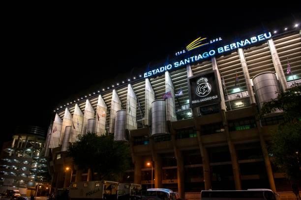 Spieltag im Stadion Santiago Bernabeu – Foto