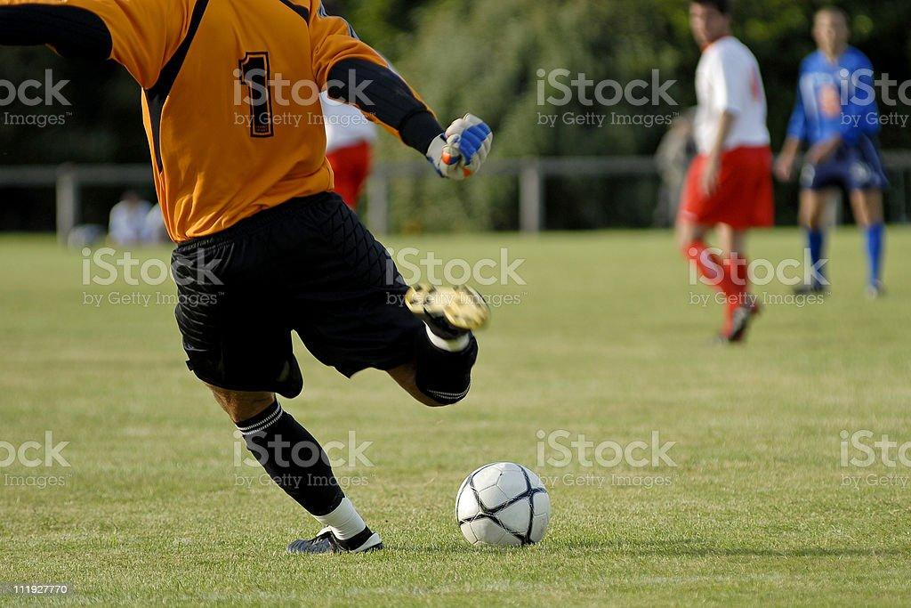 match de football royalty-free stock photo