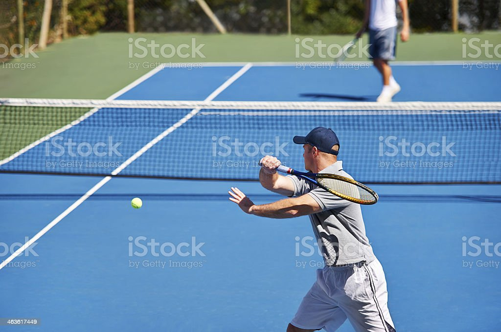 Match time royalty-free stock photo
