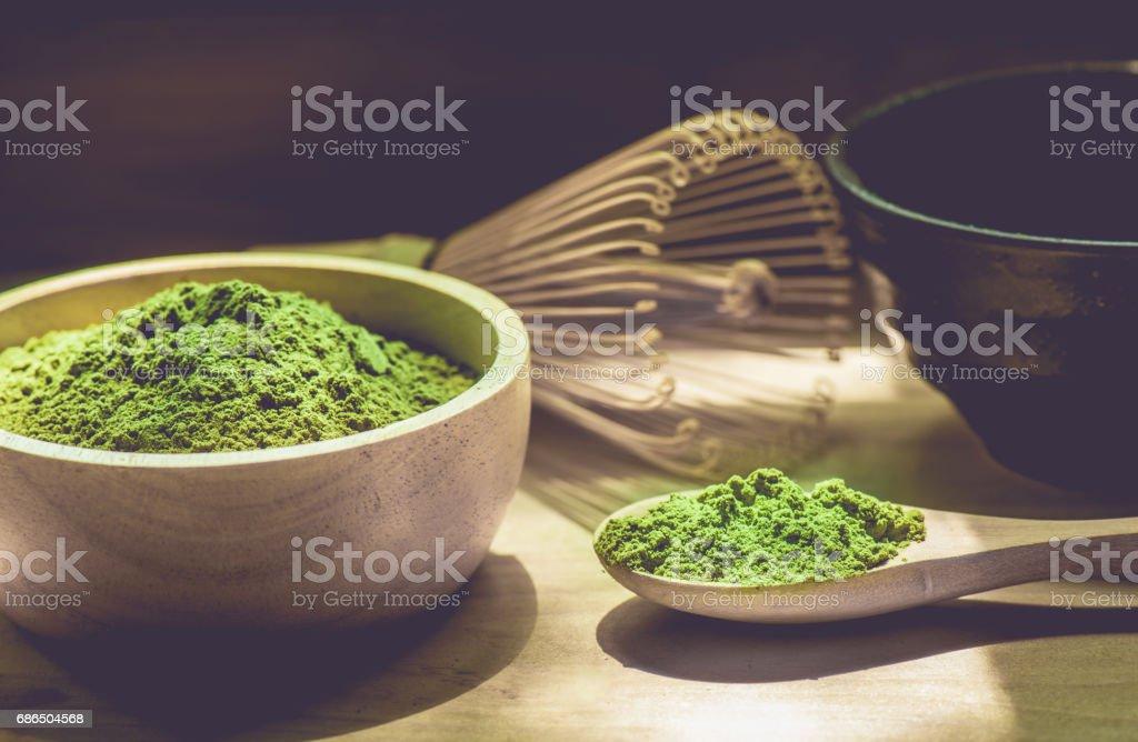 Matcha green tea royalty free stockfoto