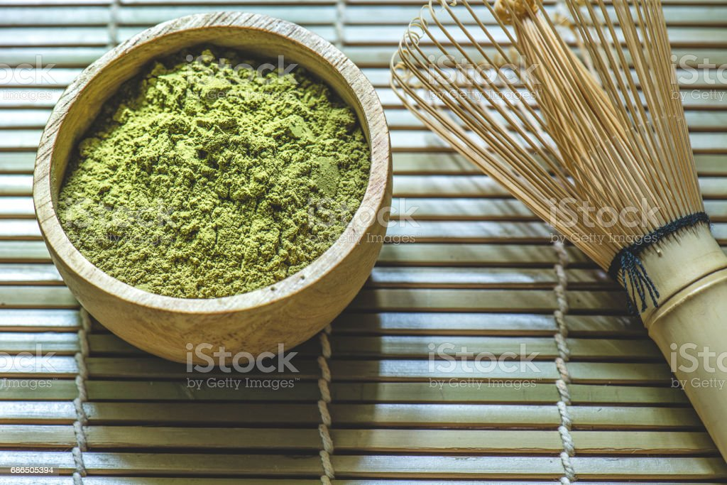 Matcha green tea royalty free stockfoto