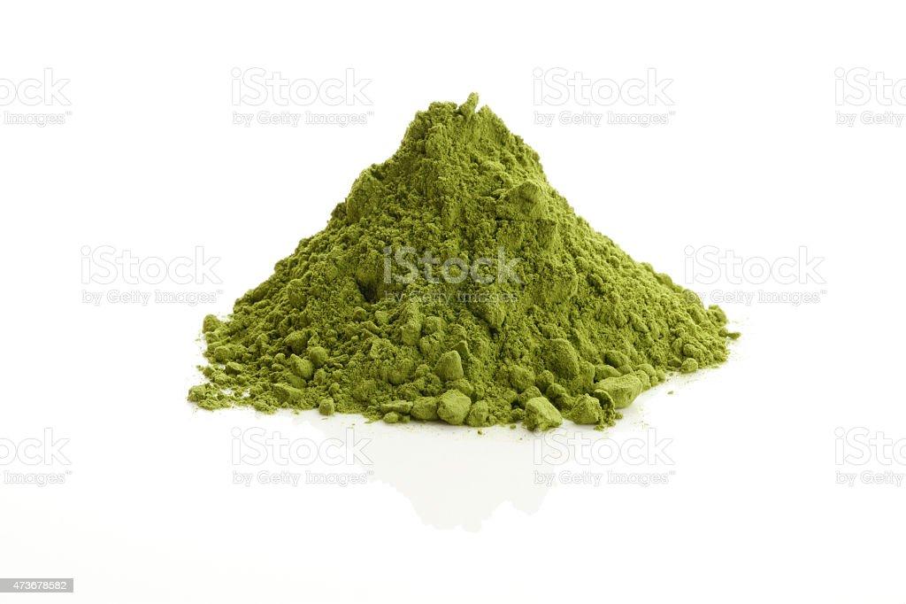 Matcha/ Green Tea powder stock photo