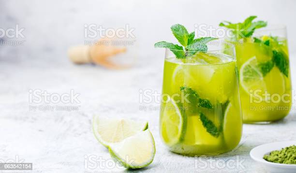 Matcha iced green tea with lime and fresh mint on a marble background picture id663542154?b=1&k=6&m=663542154&s=612x612&h=6txqgdafo8bzvrhzpezublc60 kamhmbhhy8xlqxtwu=