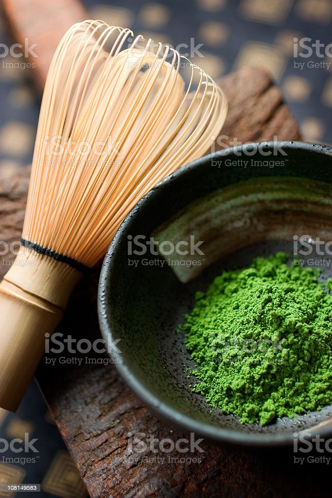 Matcha stock photo