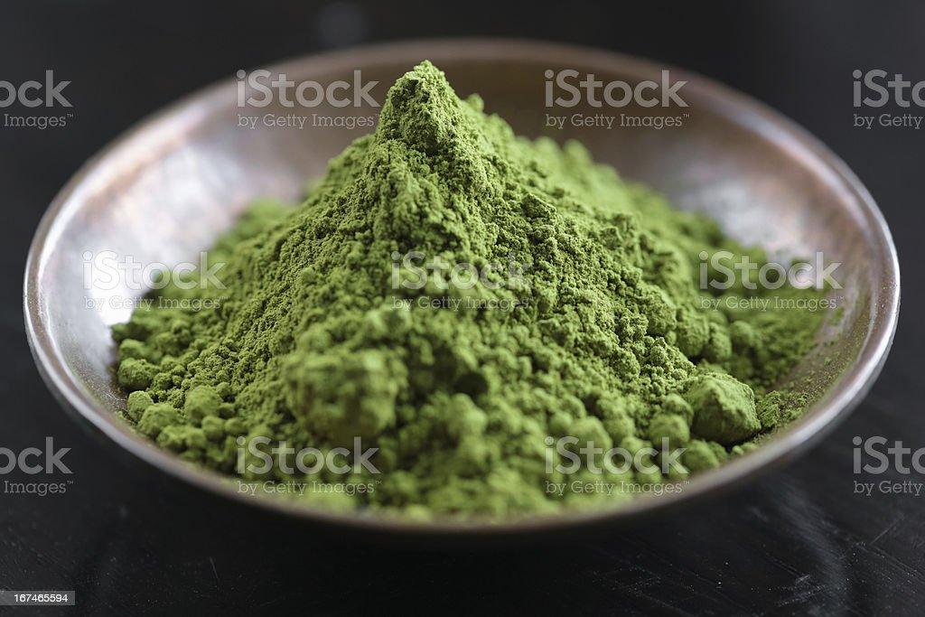 Matcha tea royalty-free stock photo