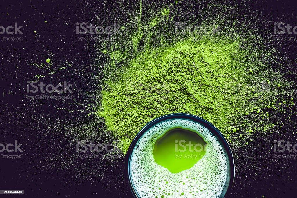 Matcha Tea stock photo