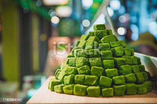 Matcha Tea Sweet Dessert