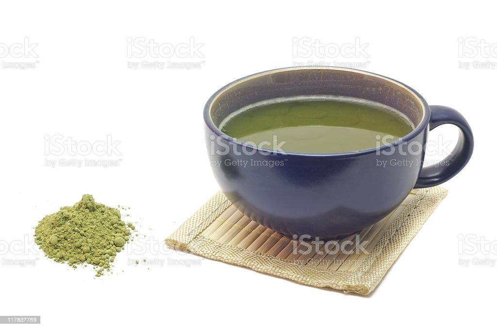 Matcha/Maccha Green Tea stock photo