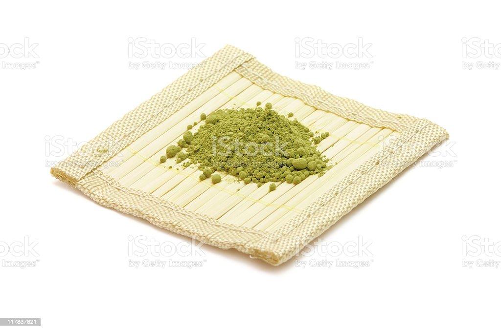 Matcha/Maccha Green Tea royalty-free stock photo