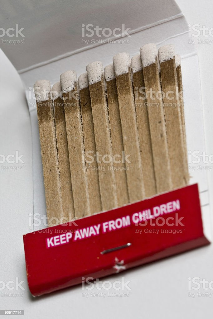 Matchbook Series royalty-free stock photo