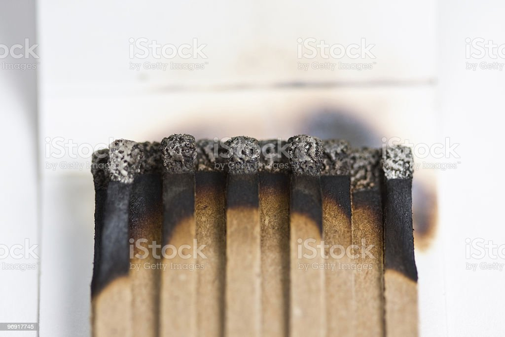 Matchbook Series stock photo
