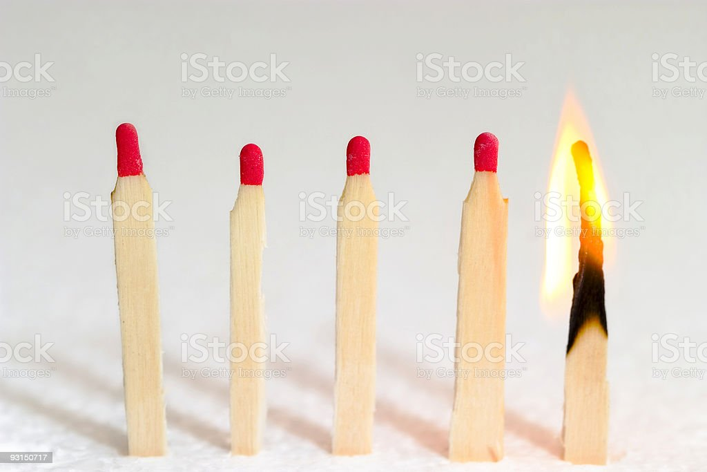 Matches 02 royalty-free stock photo