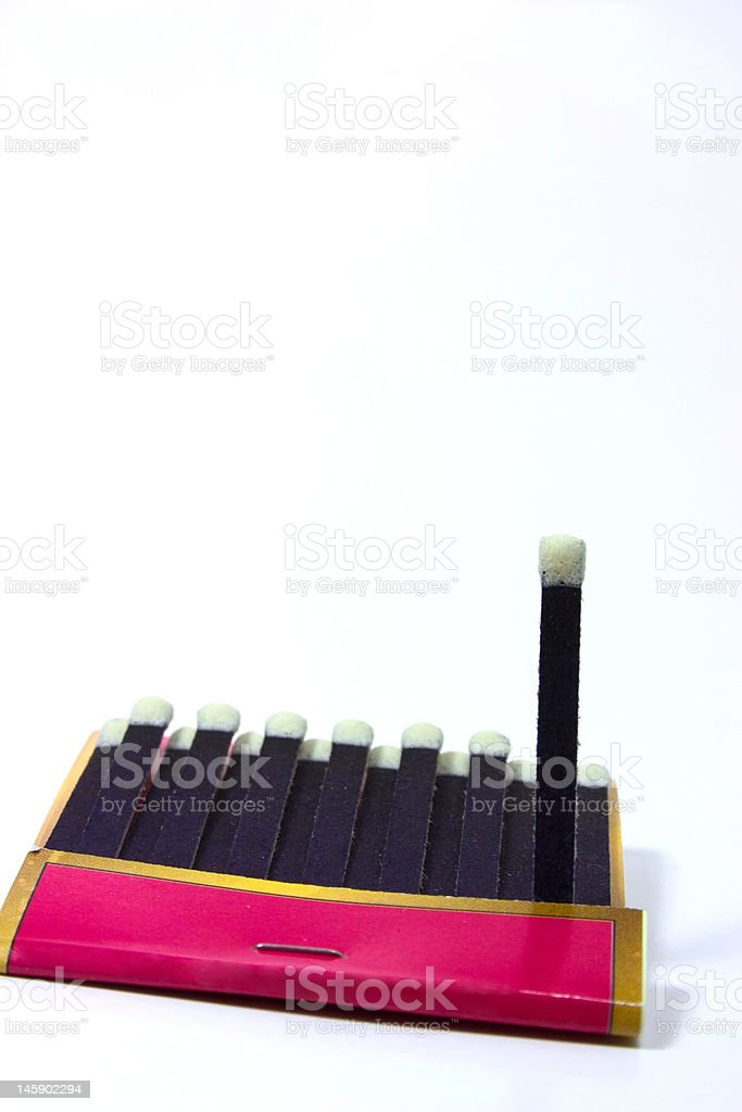 matches royalty-free stock photo
