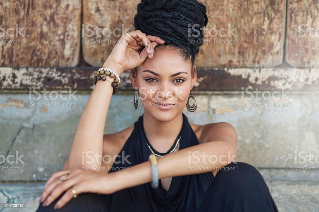 Matching beauty and style stock photo