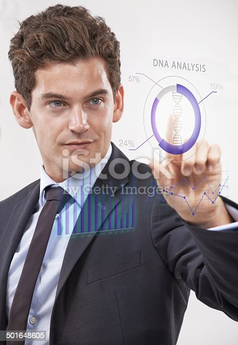 520592332istockphoto Matching biology with technology 501648605