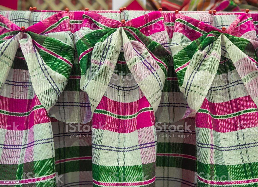 Matching fabrics loincloth stock photo