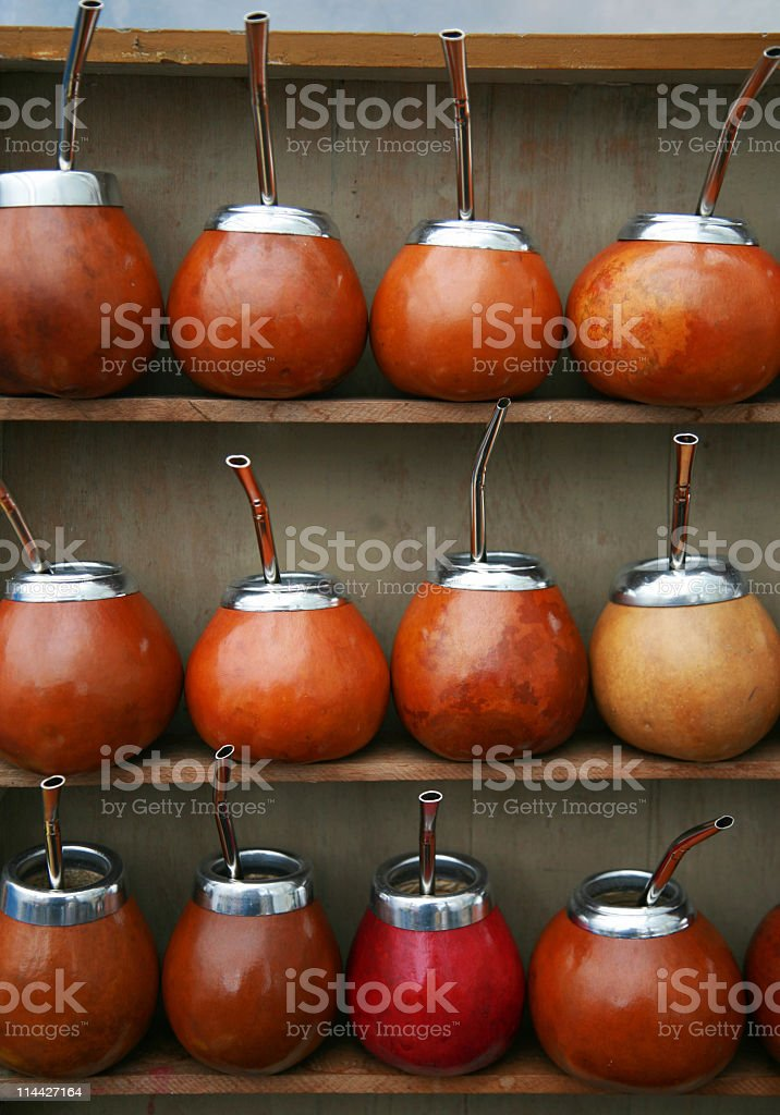 mate from Argentina royalty-free stock photo