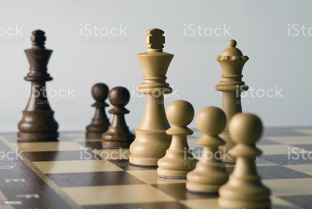 Mate in 12 royalty-free stock photo
