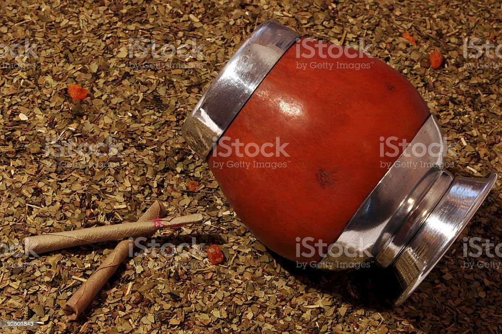 Mate tea royalty-free stock photo