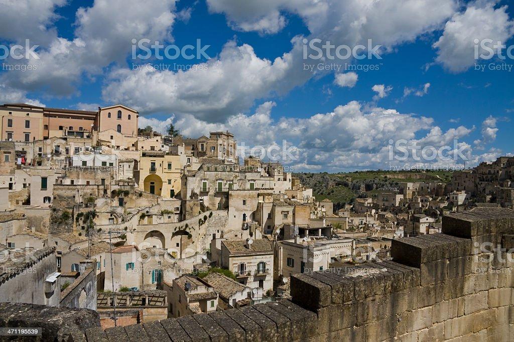 Matera, Basilicata royalty-free stock photo