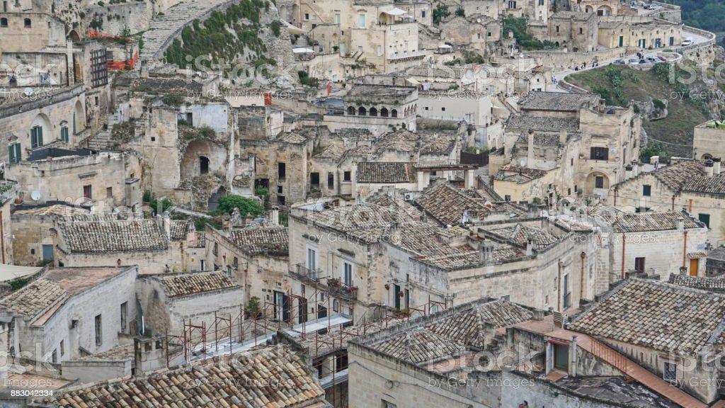 Matera, Basilicata, Southern Italy 1 - Royalty-free Ancient Stock Photo