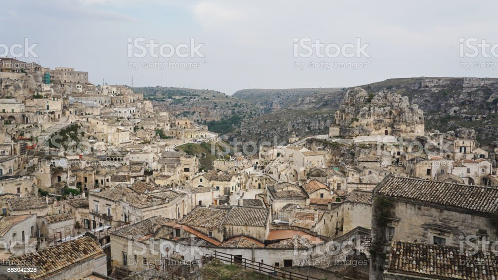 Matera, Basilicata, Southern Italy 2 royalty-free stock photo