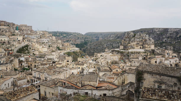 Matera, Basilicata, Southern Italy 2 stock photo