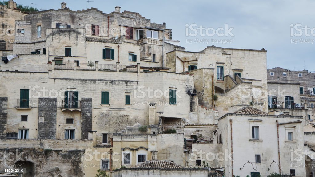 Matera, Basilicata, Southern Italy 3 royalty-free stock photo