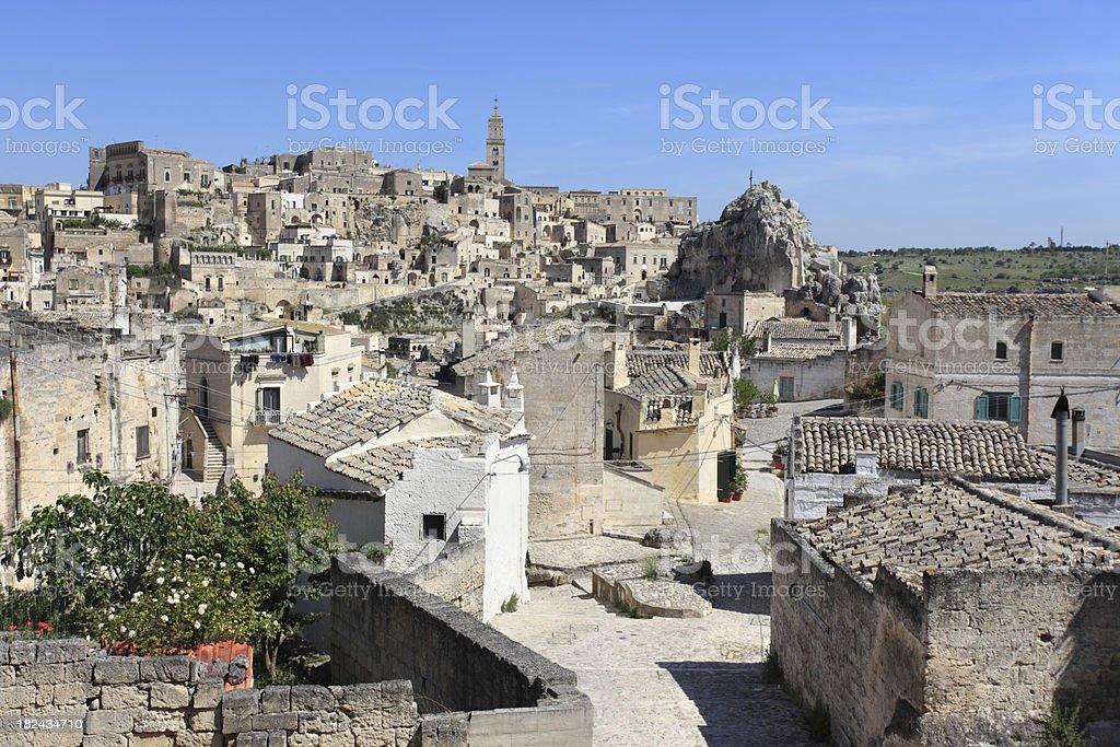 Matera cityscape royalty-free stock photo