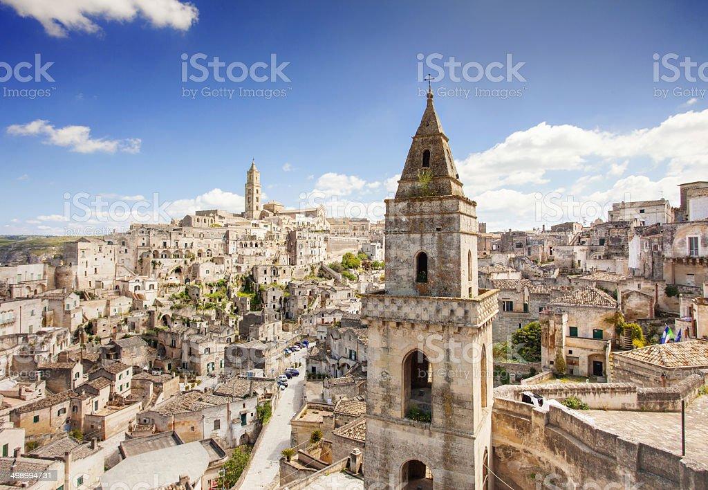 Matera, Italy royalty-free stock photo