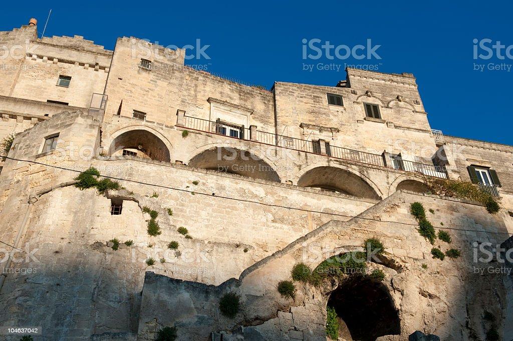 Matera, sassi - Basilicata (Southern Italy) royalty-free stock photo