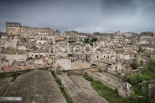 Matera, the cave city in Basilicata, Italy
