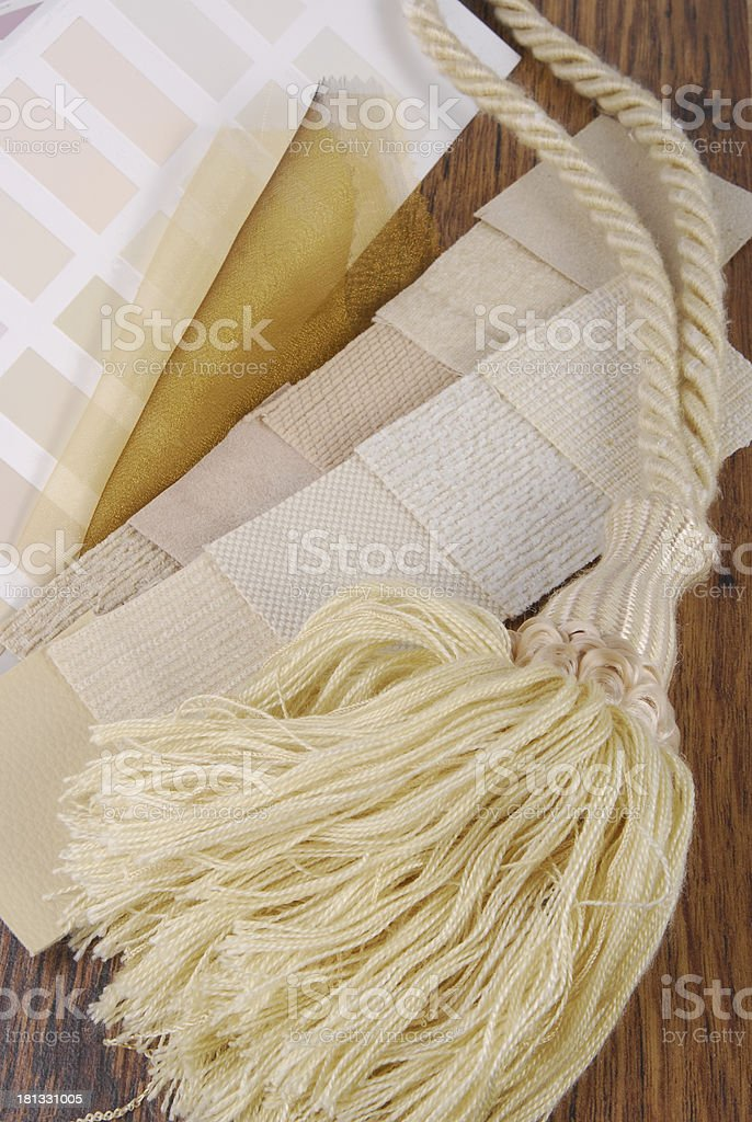 material color choosing for interior decoration royalty-free stock photo
