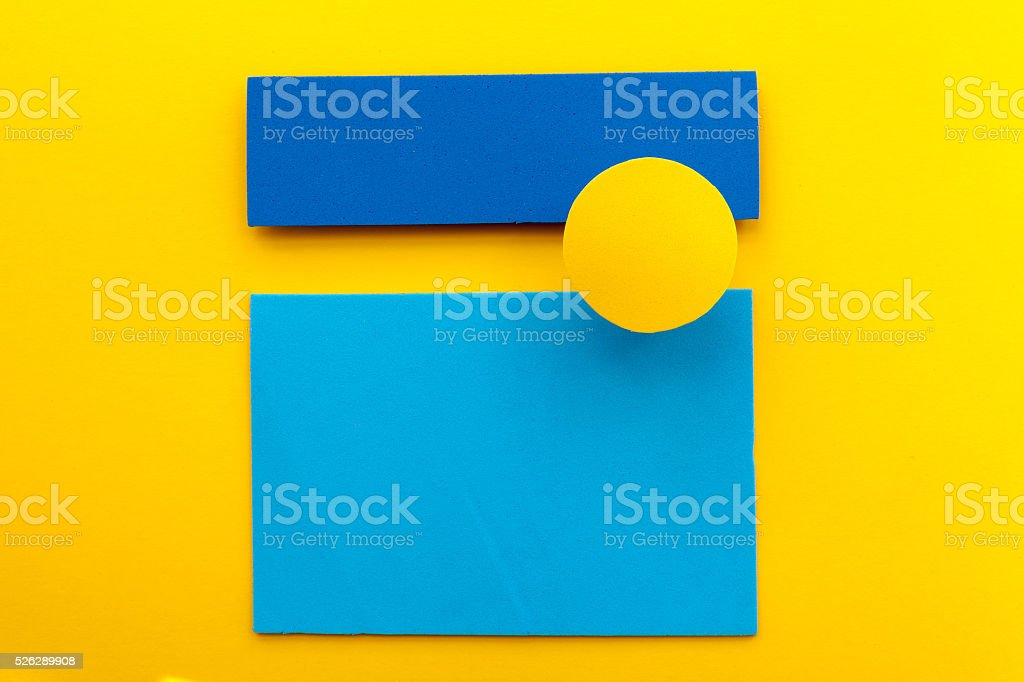 Material design colorful background stock photo