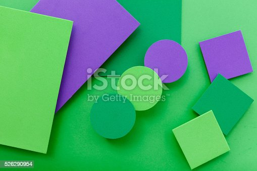 istock Material design colorful background 526290954