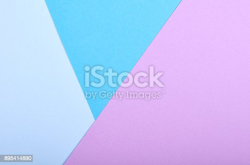 istock Material design style of color paper. Template for background and web. Vivid colors. 895414890