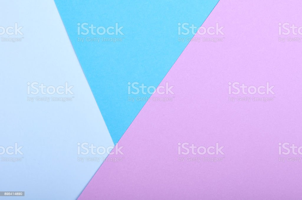 Material design style of color paper. Template for background and web. Vivid colors. stock photo