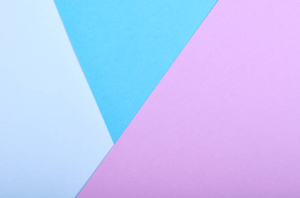 material design style of color paper. template for background and web. vivid colors. - pastel colored stock pictures, royalty-free photos & images