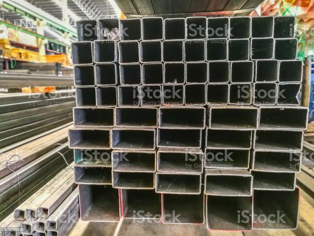 Material, Metal, Concrete, Iron - Metal, Steel stock photo