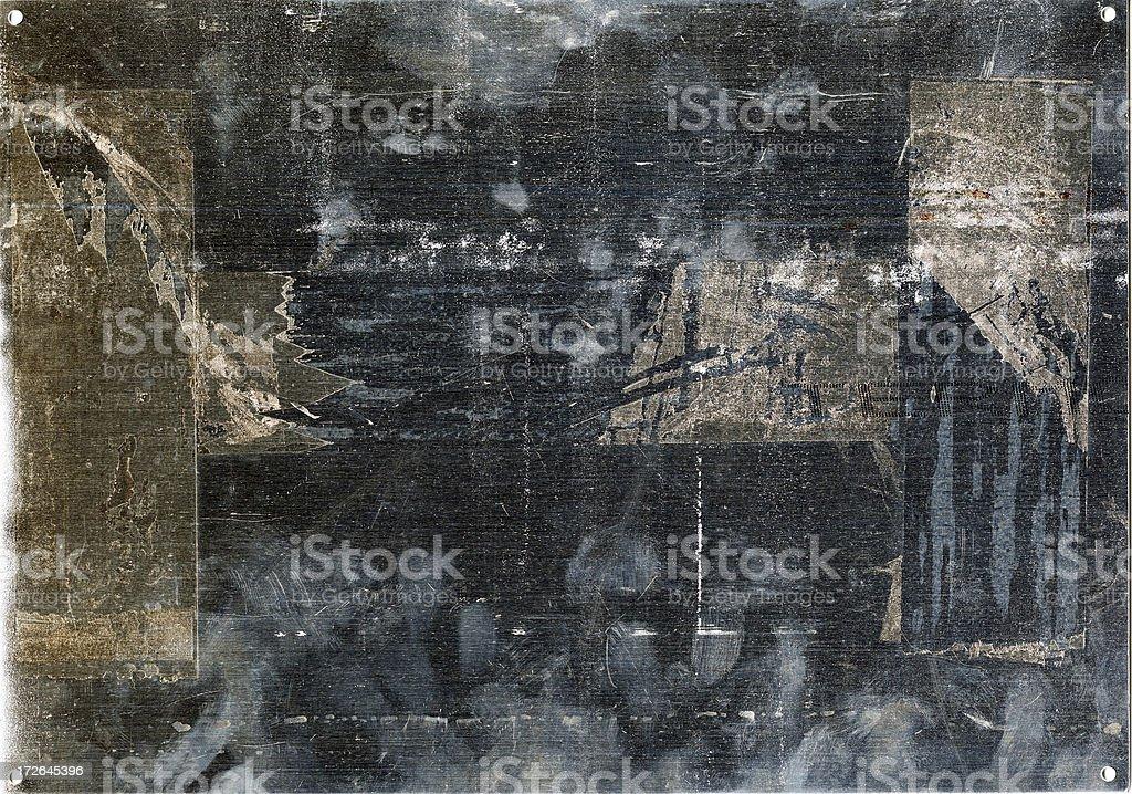 material metallic plate royalty-free stock photo