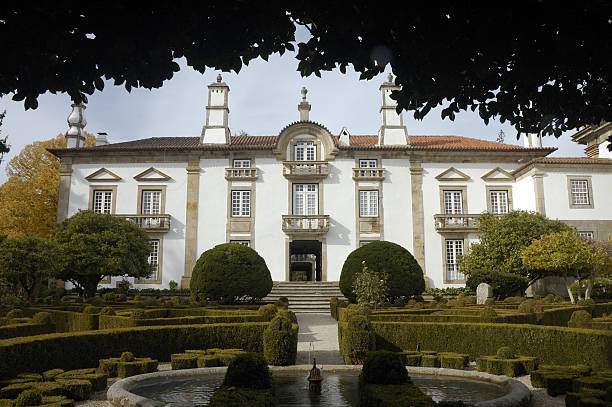 Mateus Palace stock photo