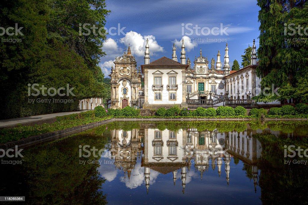 Mateus Palace, Portugal stock photo