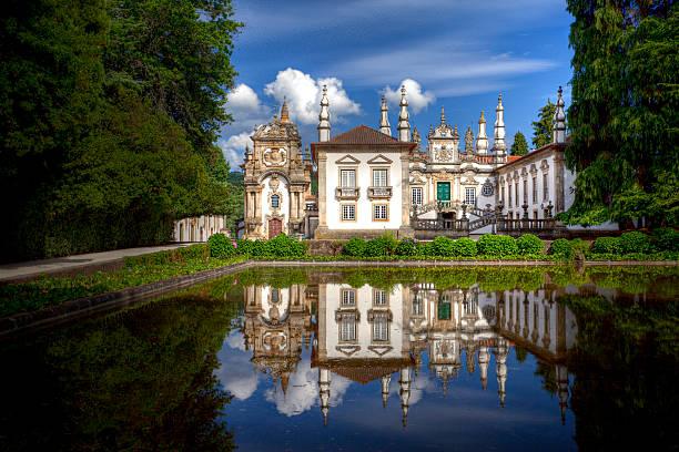 mateus palace, portugal - palats bildbanksfoton och bilder