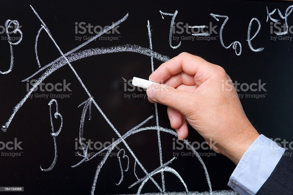 Math analysis royalty-free stock photo