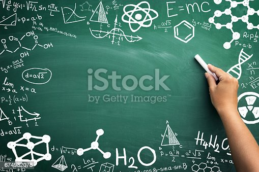 istock Math, chemistry and physics 674982078