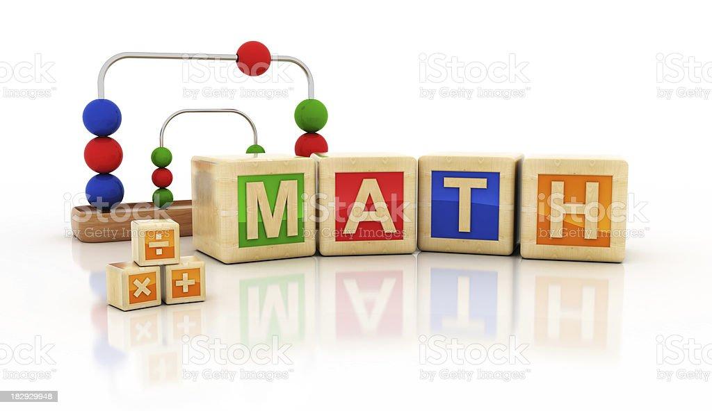 math class stock photo
