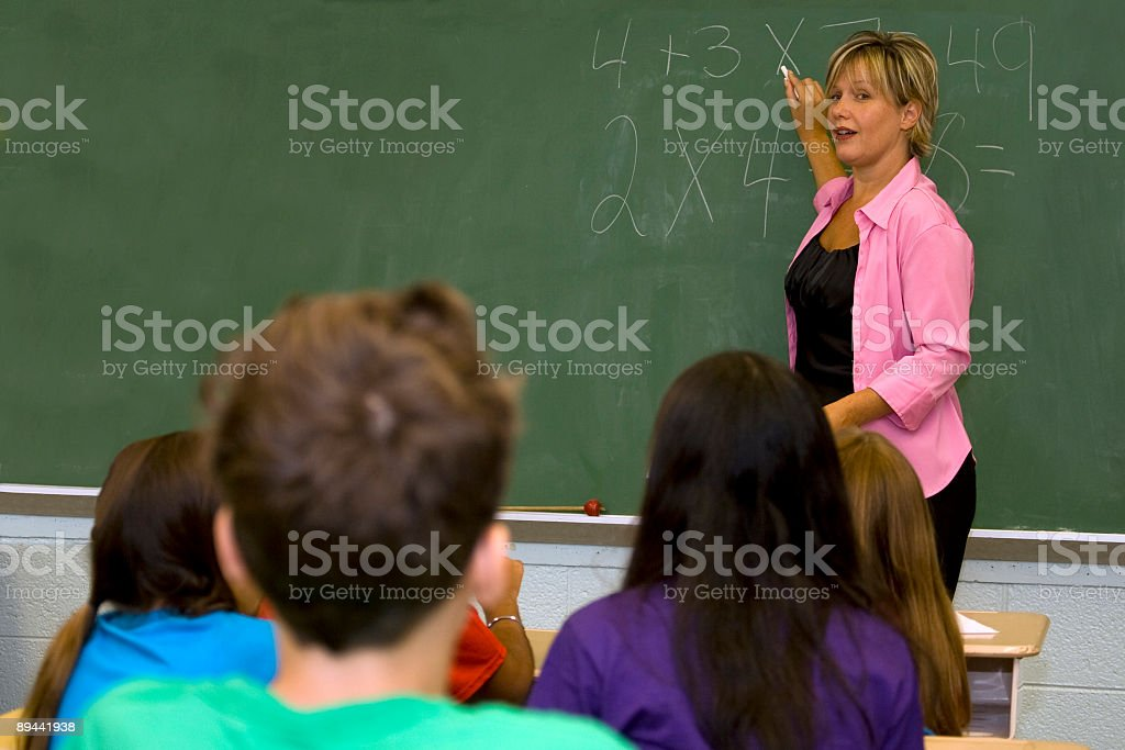 Math Class royalty-free stock photo