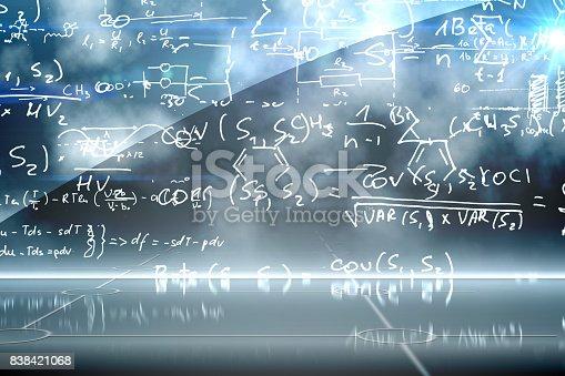 istock Math equation background 838421068