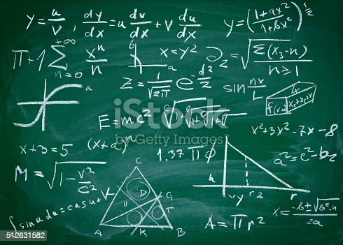 istock math formulas on school blackboard education 512631582