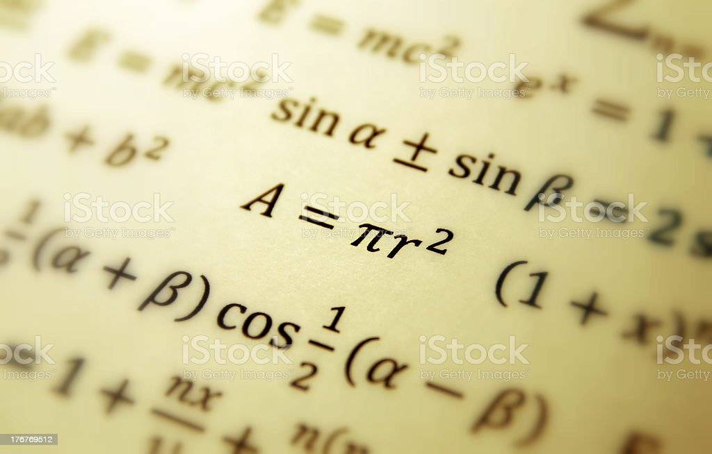 Math geometry background royalty-free stock photo